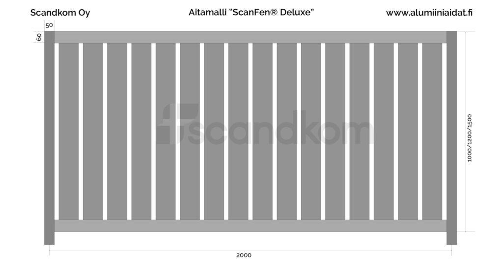 scanfen deluxe alumiiniaita